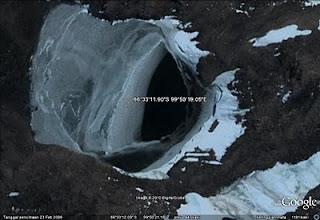 Hole - Hole Antarctica and mystery