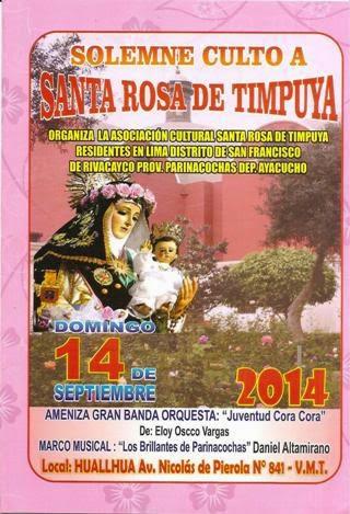 santa rosa de timpuya