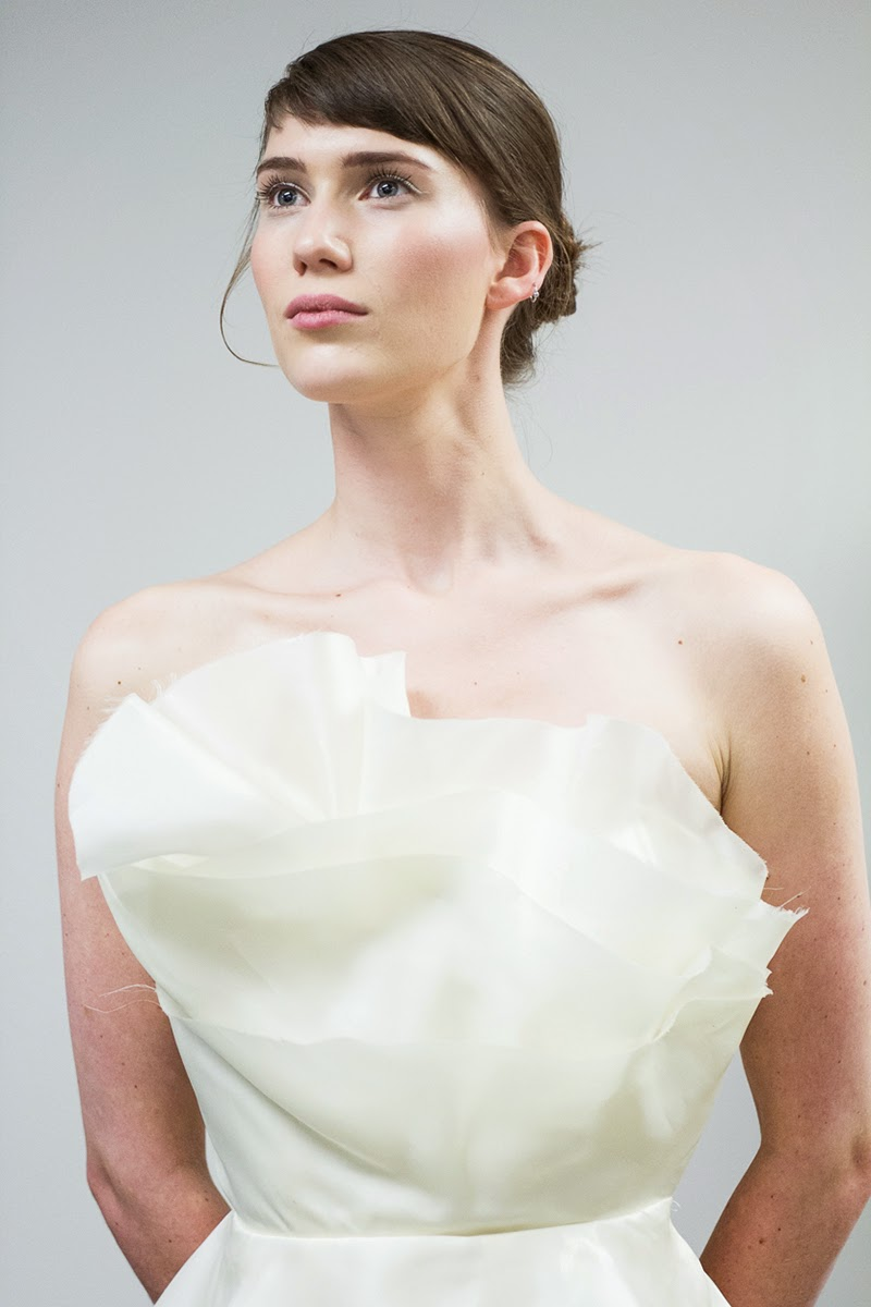 asymmetric dress, necklines, silk dress, white dress, halter dress, chiffon dress, wedding dress, bridal, couture, alyssa nicole, designer dresses, san francisco, sf style, san francisco bridal designer, fashion week, nyfw, luxury fashion,