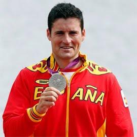 medalla de oro David Cal en C-1 piragüismo España Juegos Olímpicos de Londres 2012