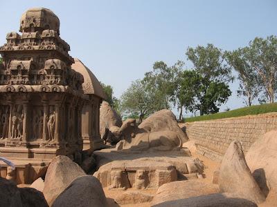 Nandi Statue, Mahabalipuram