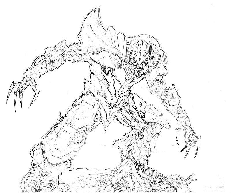 transformer gears coloring pages - photo#1