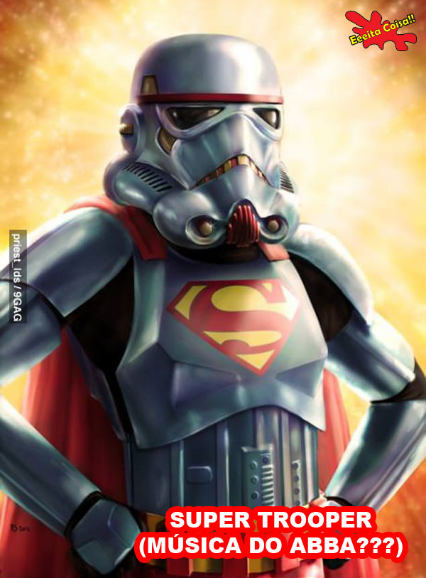 trooper, star wars, abba, musica, super trouper, eeeita coisa
