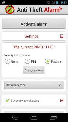 Anti Theft Alarm, Aplikasi Alarm Anti Maling Ponsel dan Tablet, Aplikasi Android,