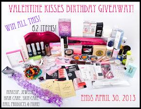 Giveaway hos Valentine Kisses
