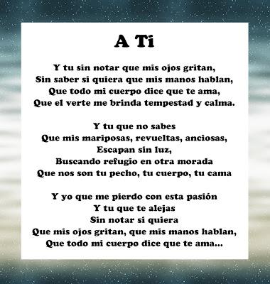 poema corto de amor