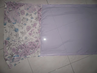 SELENDANG TUDUNG MENARIK HATI (Soft Purple-Offer $19.90)