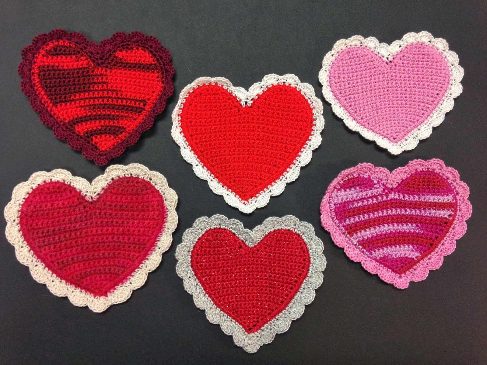 Monster Crochet Free Crochet Pattern Valentines Day Hearts