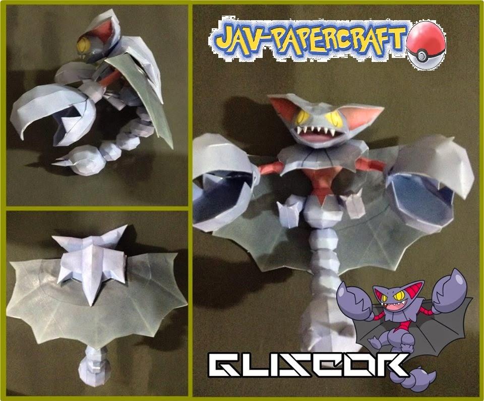 Gliscor Paper Model
