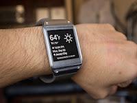 سامسونج جالاكسى جير Smart Watch و شاشة 1.8 بوصة