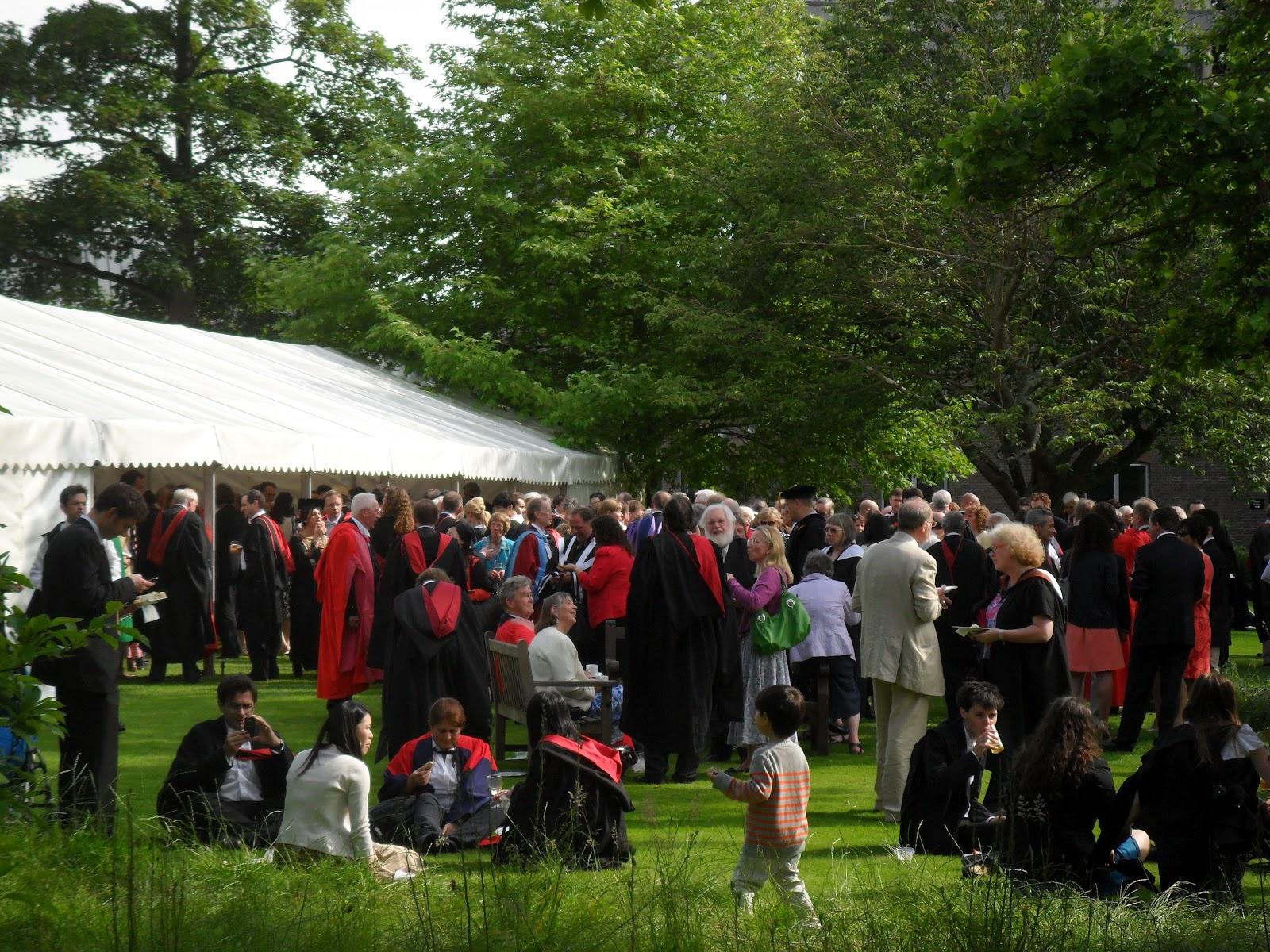 Worcester College Gardeners Encaenia Garden Party 2012