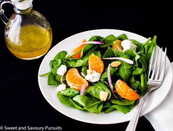 Spinach and Clementine Salad