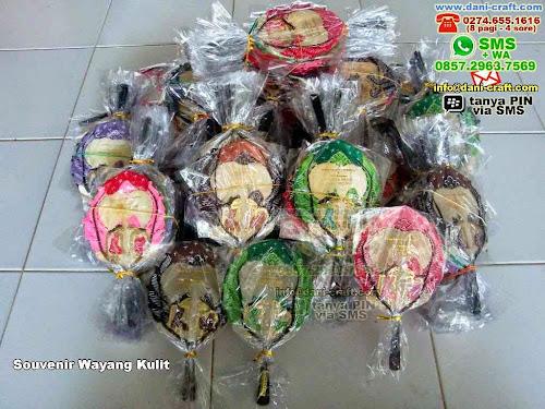 Souvenir Wayang Kulit Kulit Surabaya