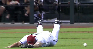 Heath Bell terrible dive