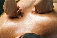 masaje en espalda