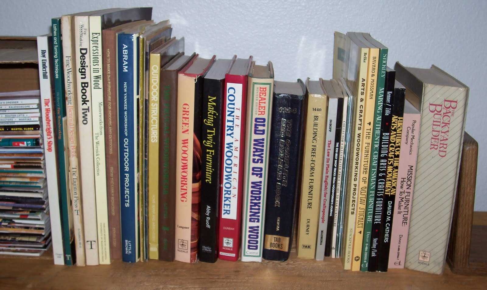 Woodworking books for sale websites