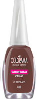 esmalte colorama chocolate