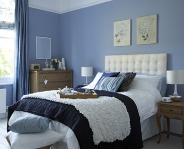 Decoraci n y afinidades dormitorio con colores relajantes - Colores para un dormitorio ...