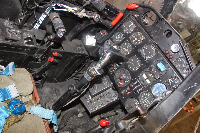 Fouga CM 170 Magister C/N 124