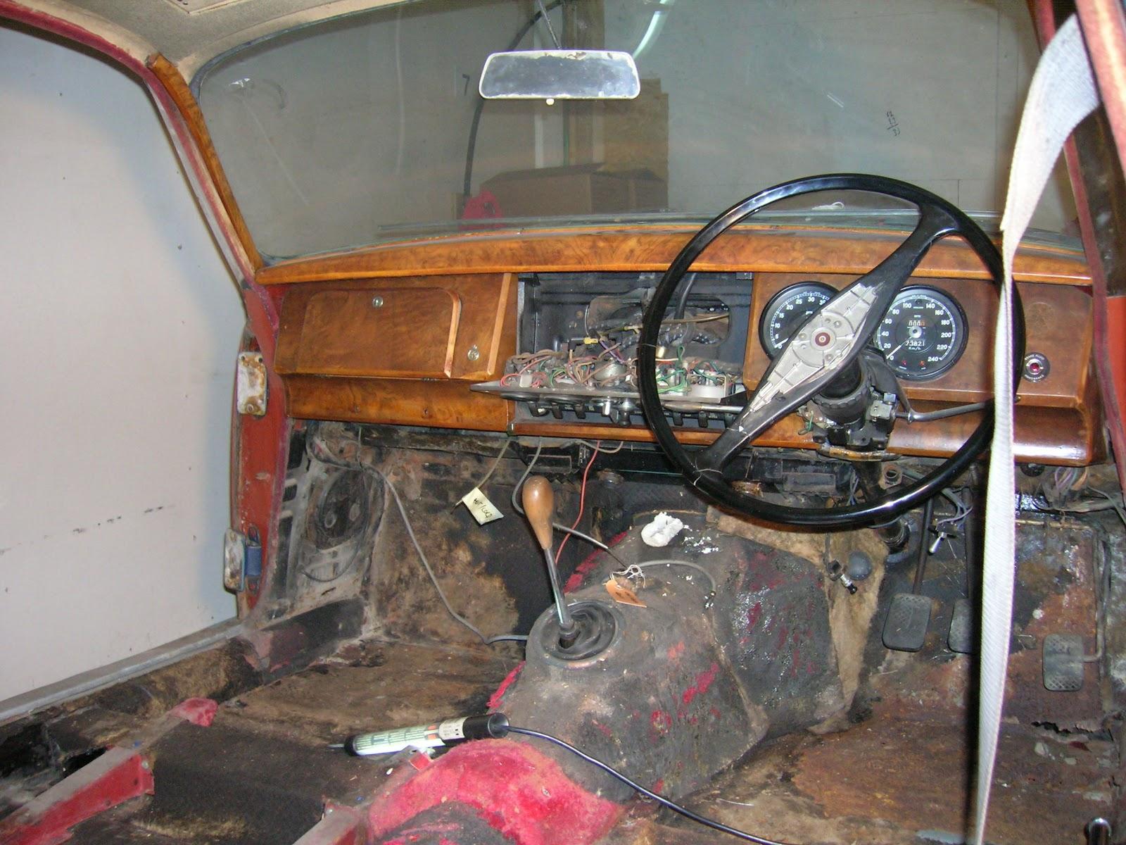 Restaurierung eines 1960er Jaguar MK II 3.8: März 2012