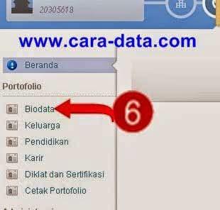 Klik Biodata