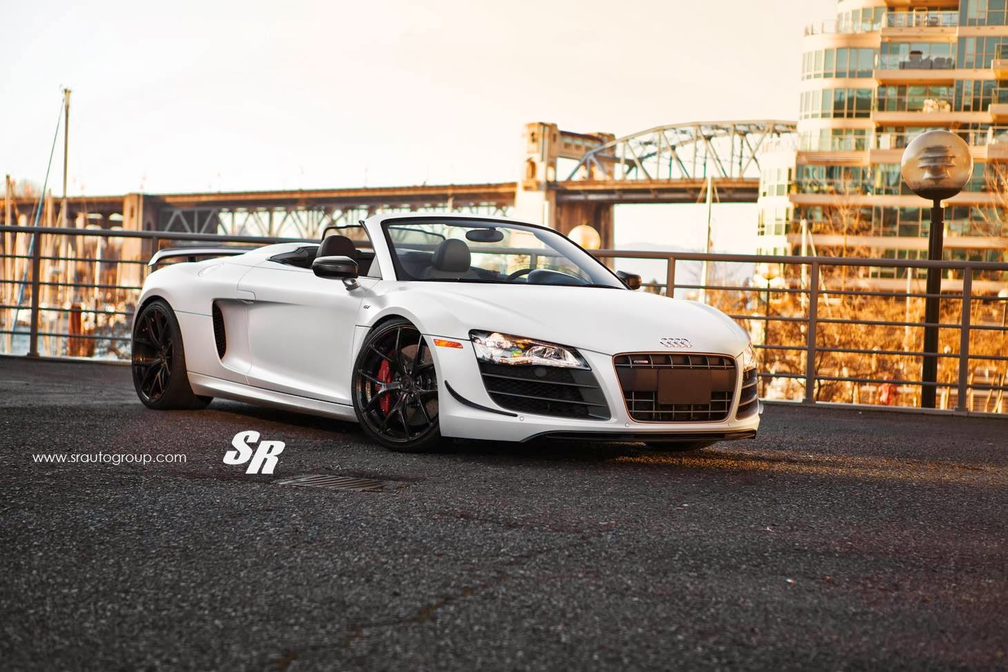 Limited edition Audi R8 GT Spyder with Black Diamond PUR Wheels Luxurious look