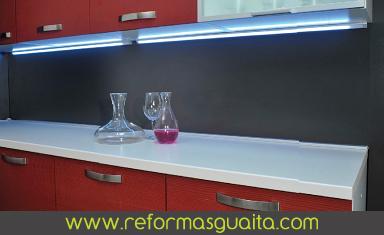 Luces Para Muebles De Cocina. Simple Luces Led Para Cocinas En Ideas ...
