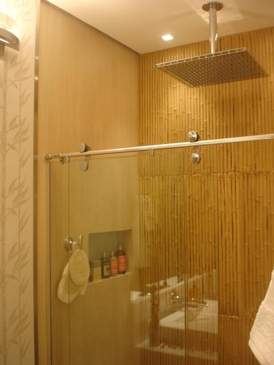 Su Falcão Decoração Bambu -> Decoracao De Banheiro Pq