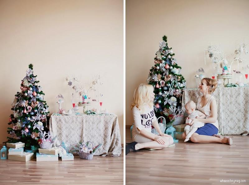 Новогоднее декорирование елки и подарков