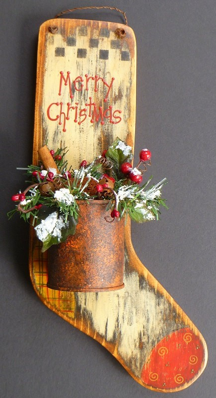 10 Rustic Christmas Decorating with Cool and Creative