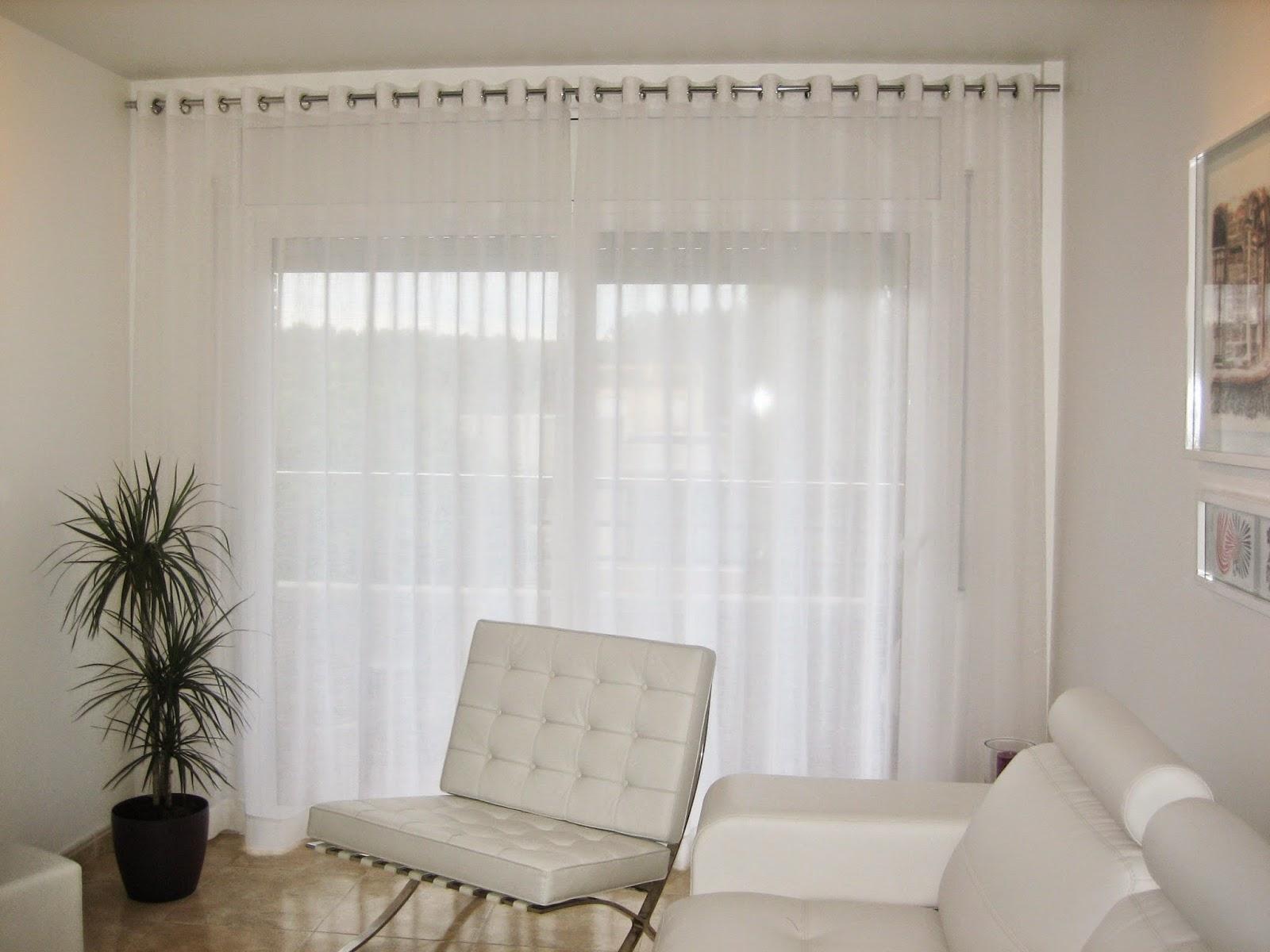Casacomplements cortinas de ollaos pre confeccionadas for Ollaos para cortinas