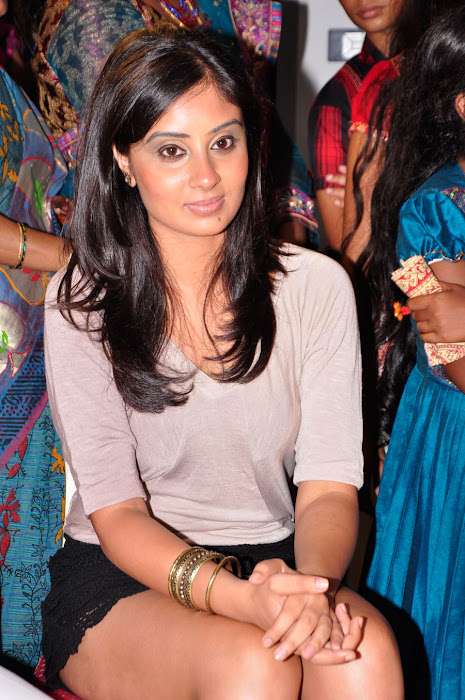 bhanu sri mehra milky in public event cute stills