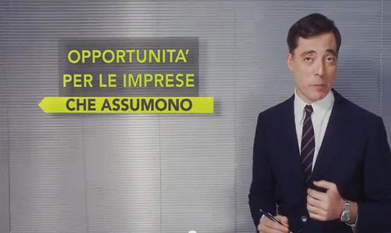 Copertina spot per le imprese - Garanzia Giovani