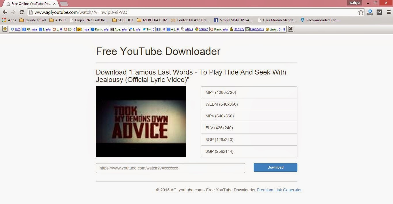 Cara Cepat Download Video di Youtube Tanpa Software