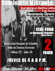 Este jueves 2 de Junio Sesión Especial del Seminario Militante