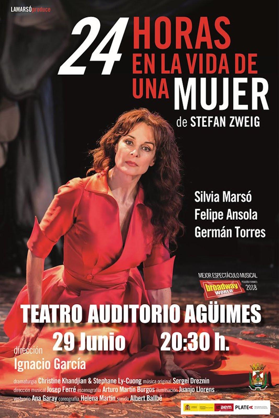 """Silvia Marsó presenta """"24 horas en la vida de una mujer"""""""