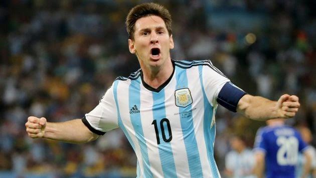 Messi, Mundial Brasil 2014, parte 1