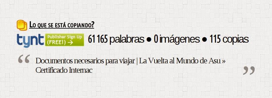 Copias diarias blog, round the world, La vuelta al mundo de Asun y Ricardo, mundoporlibre.com