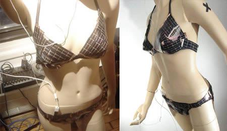 Sexiest and Craziest Bikinis Solar Powered Bikini