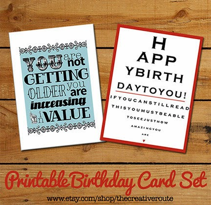 Homemade Birthday Card Idea Slim Image