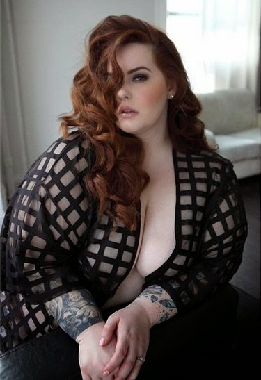 Tess Holliday, size pin-up model