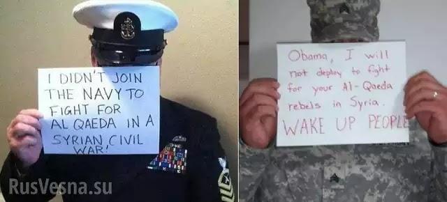 Αμερικανοί στρατιώτες αρνήθηκαν να πολεμήσουν εναντίον των ρωσικών δυνάμεων στην Συρία