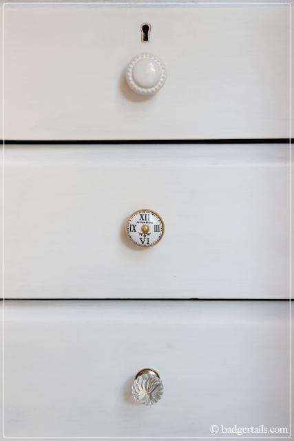 Shabby Chic Mismatched Drawer Handles