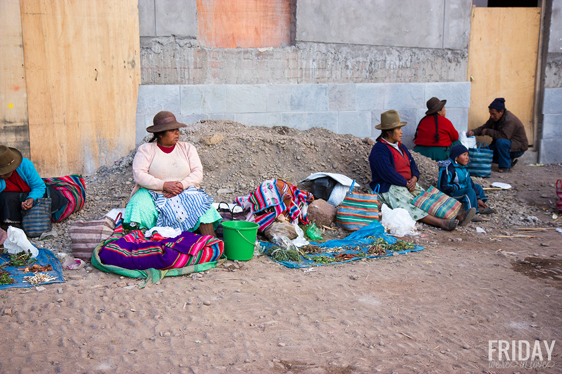 Pisac Market Peru
