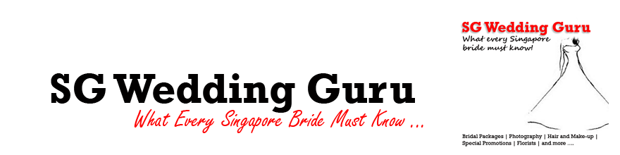 SG Wedding Guru - What Every Singapore Bride Should Know