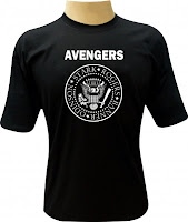 Camiseta Avengers Assemble