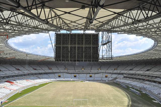 Novo estádio Mineirão é inaugurado em Belo Horizonte