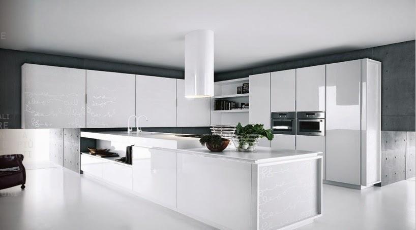 Modern White Cabinet Doors