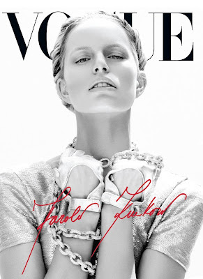 Vogue Mexico June 2012: Karolina Kurkova by Mariano Vivanco