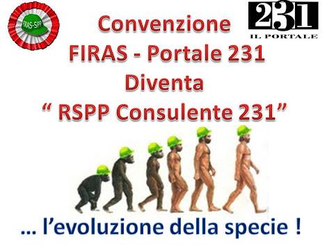 Convenzione FIRAS - Portale 231